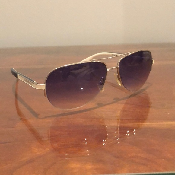 15be477468383 Emporio Armani Other - Emporio Armani Palladium Blue Lens Aviators
